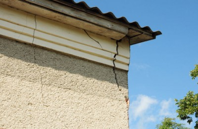 Cracks in your Louisville home are just one example of how foundation problems cause roof damage.