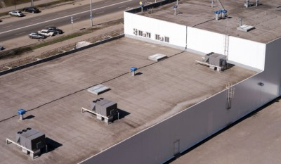 Protect your Louisville commercial building with professional roofing management.