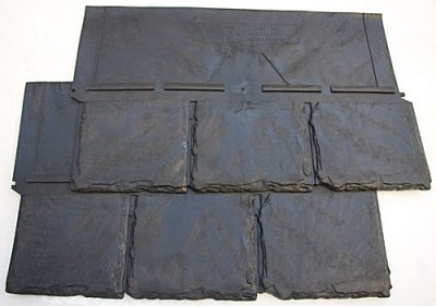 Synthetic roof tiles are made of plastic and rubber which may curl or bend in hot Louisville, KY weather.